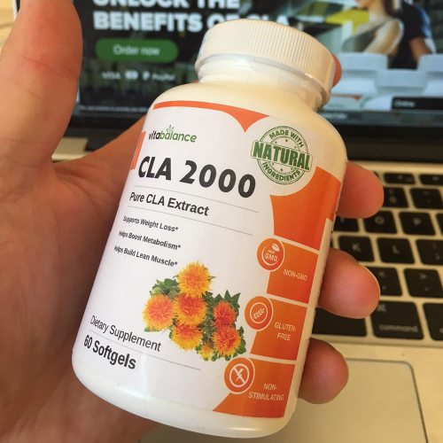 CLA 2000 Supplement Label