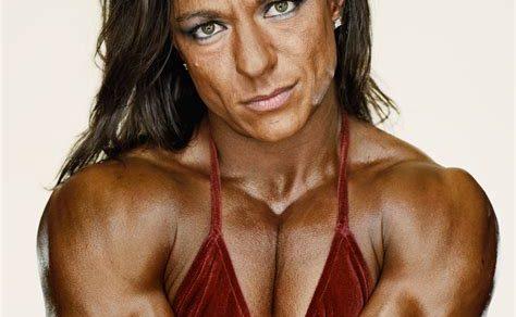 Muscular Female Bodybuilder