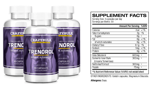 Crazy Bulk Trenorol for Women