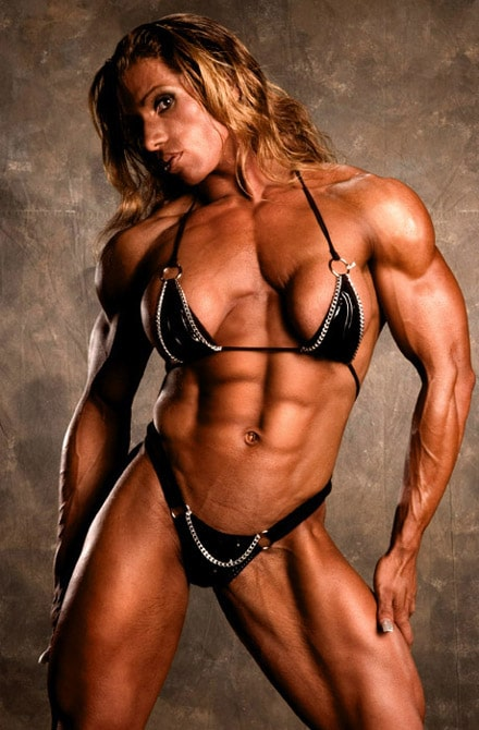 Ripped Female Bodybuilder - Female steroid side effects