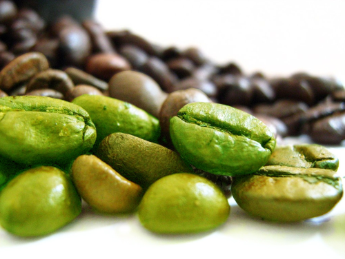 Greeen Coffee Beans